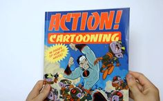 Flip Through - Action Cartooning by Ben Caldwell Perspective Drawing, Figure Drawing, Art Education, Storytelling, Book Art, Concept Art, Character Design, Action, My Favorite Things