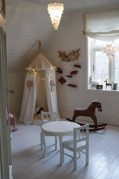 17 Amazing Playhouse Home Concepts as well as How You Can make your daughter happy Cabana, Little Girl Rooms, Kid Spaces, Kind Mode, Play Houses, Girls Bedroom, Room Inspiration, Playroom, Kids Room