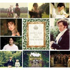 Keep Calm and read Jane Austen.