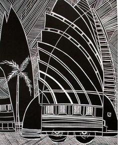 sheyne tuffery Maori Art, Year 9, Archetypes, Futuristic, Printmaking, Skyscraper, Plant Leaves, Character Design, Gallery