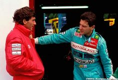 Ayrton Senna & Maricio Gugelmin