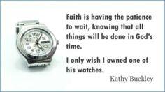 God's Timing - http://blog.peacebewithu.com/gods-timing/