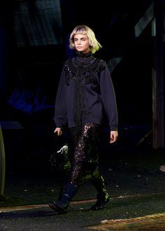 Cara Delevingne walks the runway for Marc Jacobs Spring 2014
