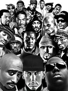 HRH Blogs Pics. Rap Legends