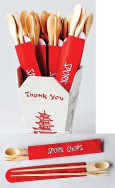Adorable utensils for Asian night! Fab Finds  | GIFT SHOP Magazine