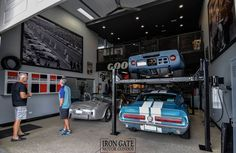 Garage Metal, Pole Barn Garage, Modern Garage, Cool Garages, Custom Garages, Man Cave Garage, Garage Shop, Garage House, Two Story Garage
