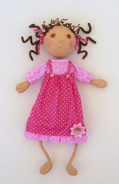 free soft doll patterns | ... doll classes, e-patterns, mixed media art classes, free doll patterns