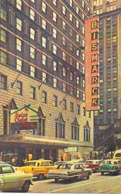 Bismarck Hotel (now Hotel Allegro), 1966