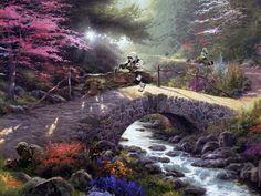 Jeff Bennett Creates Star Wars Paradise In Thomas Kinkade Paintings
