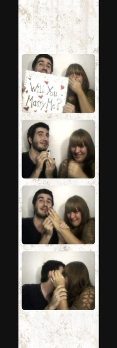 Our engagement :) / proposal his-wedding-ideas