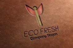 Check out ECO Fresh Logo on Creative Market Photoshop Brushes, Fonts, Fresh, Logo, Creative, Check, Pattern, Design, Designer Fonts
