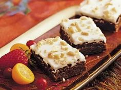 Ameretto Brownies