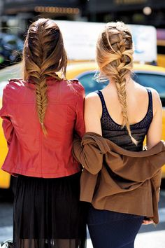Gorgeous long braids