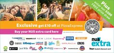 Get your NUS extra card