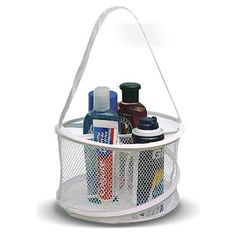 Make shower time easier with these handy and inexpensive shower caddies. Don't drop another bottle in the shower ever again!