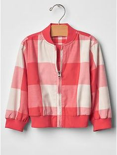Checkered bomber jacket#196797 Color: gingham