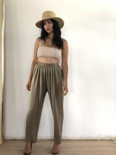Golden easy pants All Sale, Harem Pants, Im Not Perfect, Unique, Easy, Vintage, Fashion, Moda, Harem Trousers