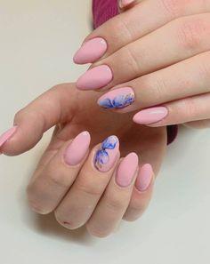 Porcelain Doll Gel Brush by Indigo Educator Ania Faber #nails #nail #pink #porcelain #blue #pastel #wow #amazing