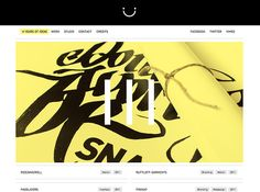 Snagly - CoolHomepages Web Design Gallery