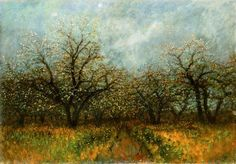 View László Mednyánszky's artworks on artnet. Learn about the artist and find an in-depth biography, exhibitions, original artworks, the latest news, and sold auction prices. Blooming Trees, Art World, Impressionism, Original Artwork, Baron, History, Artist, Paintings, Historia