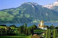 Switzerland - Lake Thun, Spiez, Sigriswil Merligen Niederhorn.. home of my great grandfather