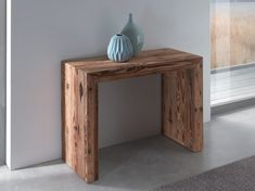 GLASS   Table console en bois By Ozzio Italia
