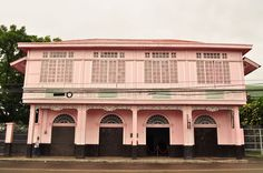 """The ancestral house of Bernardino & Ysabel Jalandoni is now a museum called the """"Pink House"""" Philippine Houses, Visayas, Mindanao, Pink Houses, Throughout The World, Philippines, Home Goods, Museum, Mansions"""