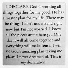 Amen! So true for me and my family right now! I know the best is yet to come