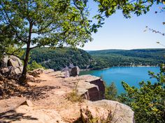 Devil's Lake State Park is Located in Baraboo, Wisconsin and situated along the Ice Age Trail and is visited by more than 1.2 million people per year!