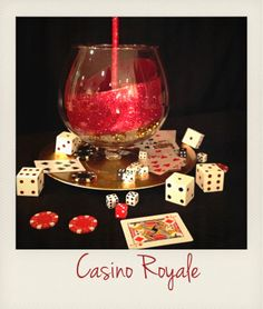 James Bond Prom 2014/ Table Centerpiece