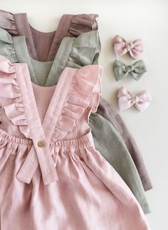 Baby Dress Design, Frock Design, Little Girl Dresses, Girls Dresses, Cute Baby Dresses, Baby Summer Dresses, Dress Summer, Vintage Baby Dresses, Baby Girl Fashion