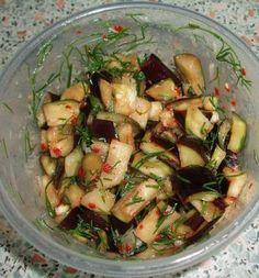 Маринованые баклажаны | Marinated eggplants