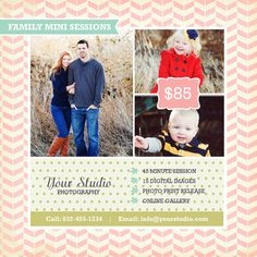 Summer Mini Session Marketing Board Instant by napavintagestyle, $5.00