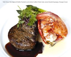 #DBBridalStyle - Filet Mignon and Butter Poached Local Lobster