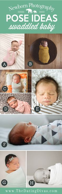 This whole page is a billion ideas on newborn photography. So cool!