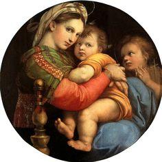 Madonna della Seggiola. Raffaello Sanzio