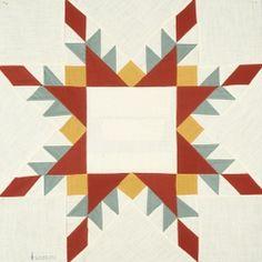 Star of Chamblie quilt block