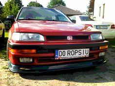 Honda /// Concerto 1.6i 16v /// 1994 /// d16z6 Supercharged ///