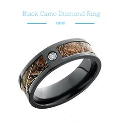 Simple Kings Snow Camo Wedding Ring with Polished Finish Camo Rings Direct Rings Pinterest Snow camo wedding Camo wedding rings and Camo wedding