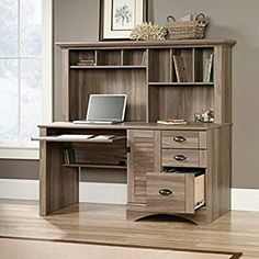 30 best l shaped desks images desk hutch computer desk with hutch rh pinterest com