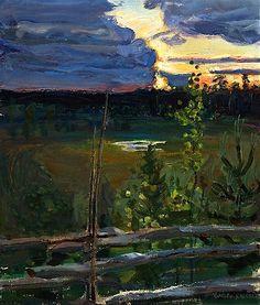 Akseli Gallen-Kallela, Afterglow
