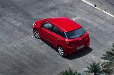 Release 2015 Hyundai i20 Top View Model