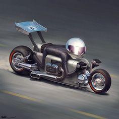 BikeBuddy Number 6, Mehrdad Malek Ahmadi on ArtStation at https://www.artstation.com/artwork/xmYZX
