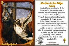 ¿Cómo murieron los Apóstoles? San Felipe