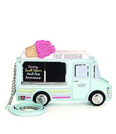 kate spade new york Flavor of the Month Ice Cream Truck Clutch #Dillards