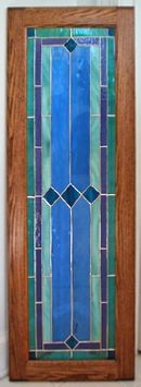 Hartford stained glass for cabinets