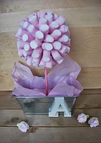 So Sunny arbol de nubes y chuches. Candy tree DIY