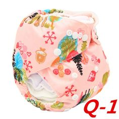 Infant Baby Boys Girls Washable Fitted Reusable Cloth Diapers Nappy Wipes Cover #Affiliate