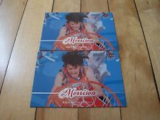 2007-08 Fleer Ultra SE Retail #15 ADAM MORRISON (2) Card Lot