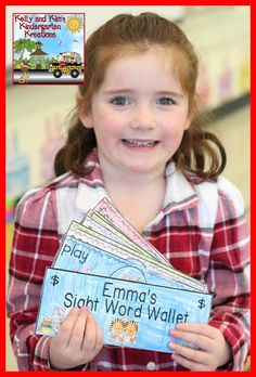 The Primary Pack: Motivating Readers with Sight Word Money (Freebie Included! Pre K Sight Words, Sight Word Spelling, Teaching Sight Words, Sight Word Practice, Sight Word Games, Sight Word Activities, Literacy Activities, Literacy Centers, Word Study